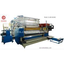 LLDPE 5 Layer Extruder Filem Stretch Cast automatik